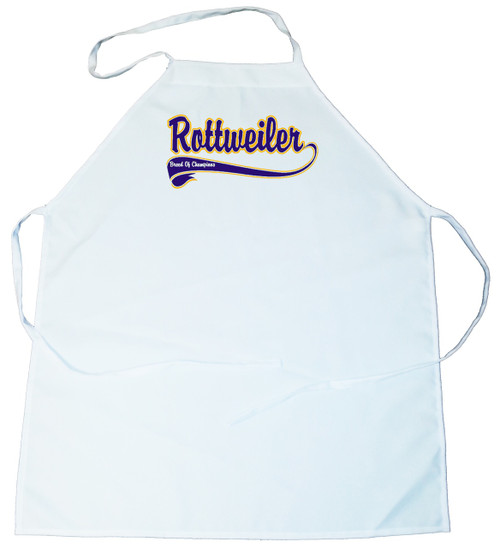 Breed of Champion (Blue) Apron - Rottweiler (100-0002-352)