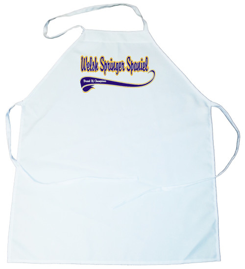 Breed of Champion (Blue) Apron - Welsh Springer Spaniel (100-0002-404)
