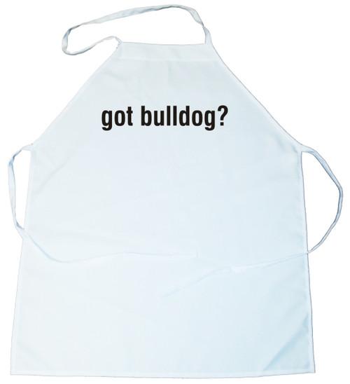 Got Bulldog Apron (100-0003-174)