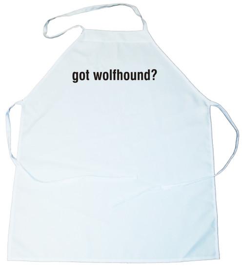 Got Wolfhound (Irish Wolfhound) Apron (100-0003-268)