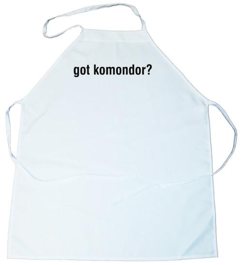 Got Komondor Apron (100-0003-280)