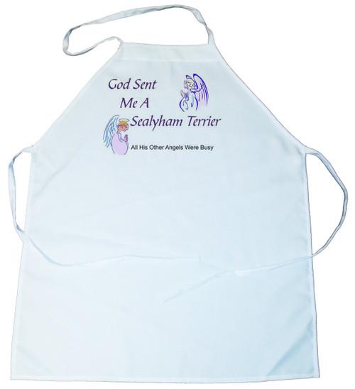 God Sent Me a Sealyham Terrier Apron (100-0005-366)