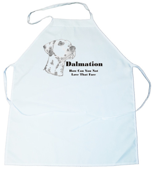 How Can You Not Love That Face Apron: Dalmatian (100-0071-206)