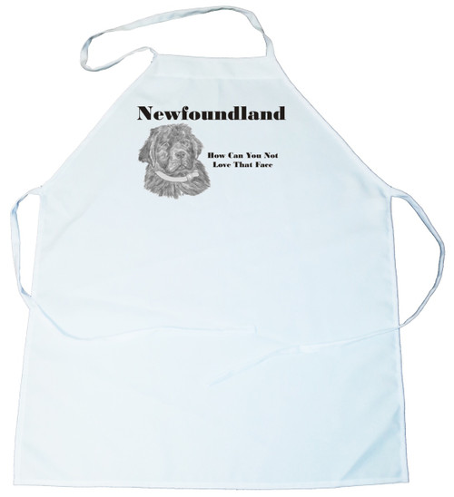 How Can You Not Love That Face Apron: Newfoundland (100-0071-306)
