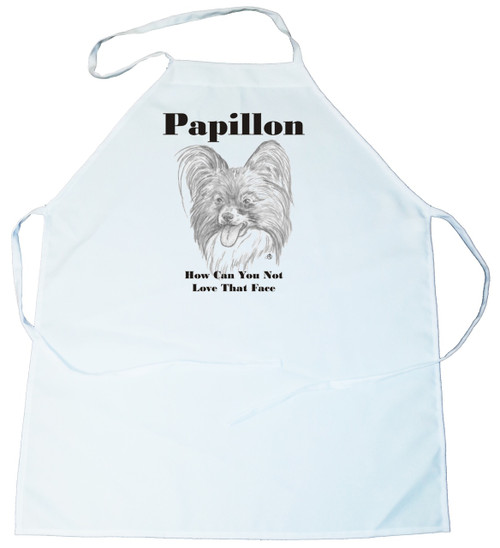 How Can You Not Love That Face Apron: Papillon (100-0071-320)