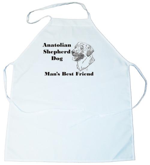 Man's Best Friend Apron: Anatolian Shepherd Dog (100-0072-118)