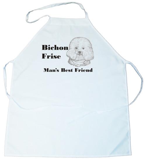 Man's Best Friend Apron: Bichon Frise (100-0072-146)