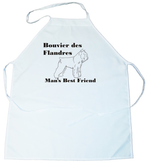 Man's Best Friend Apron: Bouvier des Flandres (162C) (100-0072-162C)
