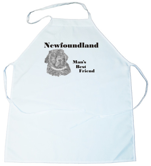 Man's Best Friend Apron: Newfoundland (100-0072-306)