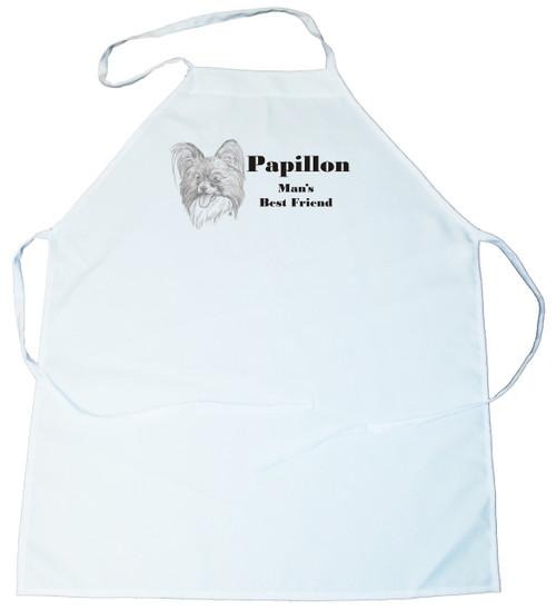 Man's Best Friend Apron: Papillon (100-0072-320)