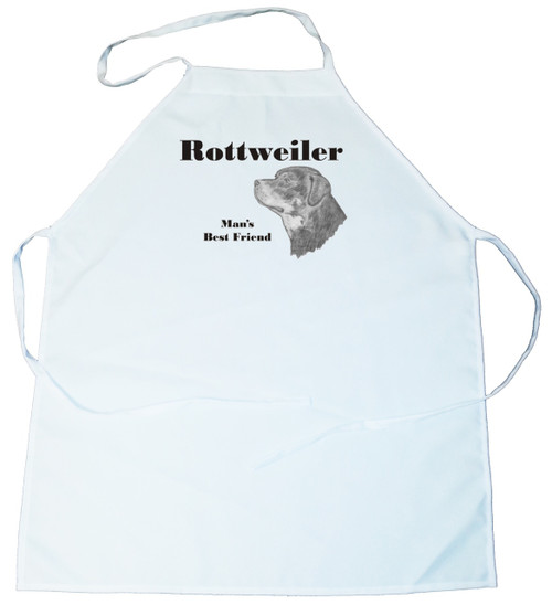 Man's Best Friend Apron: Rottweiler (100-0072-352)