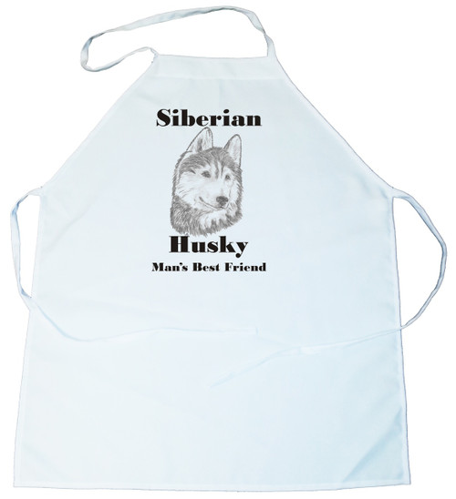 Man's Best Friend Apron: Siberian Husky (100-0072-374)