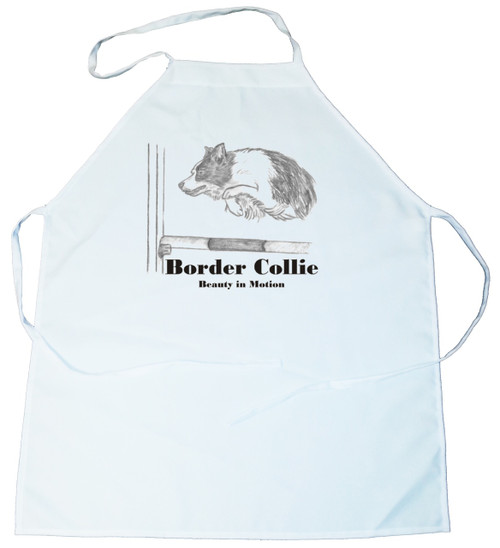Beauty In Motion Apron- Border Collie (100-0059-154)