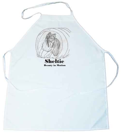 Beauty In Motion Apron- Sheltie (100-0059-368A)