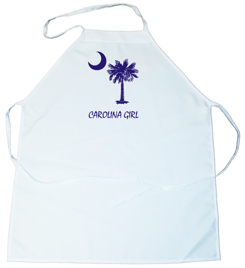 Apron -  Carolina Girl Palmetto & Moon (Blue) (100-0060-004)