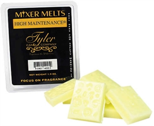Fleur De Lis Scented Tyler Candle Company Mixer Melt