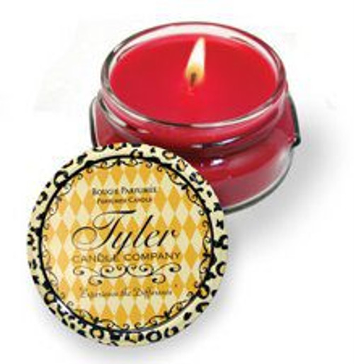 Abundance Scented Tyler Candle Company Prestige Collection 3.4oz Two Wick Candle