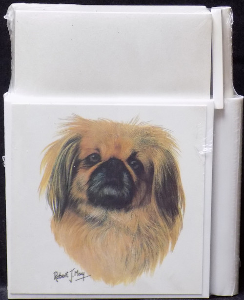 Hold-A-Note Designs by Robert May - Pekingese (RHN36)