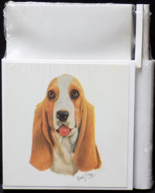 Hold-A-Note Designs by Robert May - Basset Hound (RHN37)