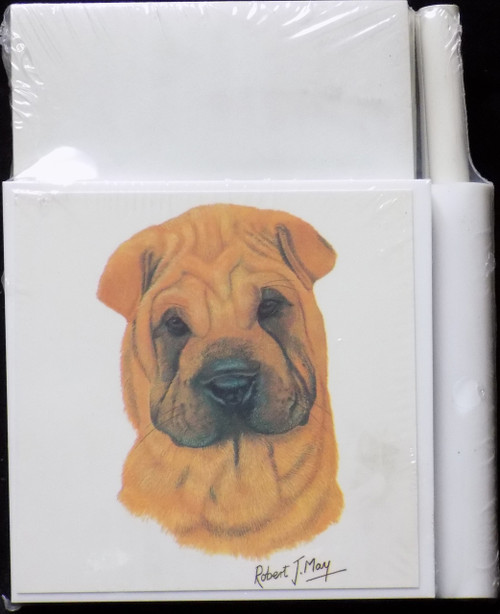 Hold-A-Note Designs by Robert May - Shar Pei (RHN40A)