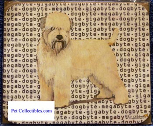 Fur Children Megabyte, Gigabyte, Dog Byte Mouse Pad - Wheaten Terrier (MPMGDB145)