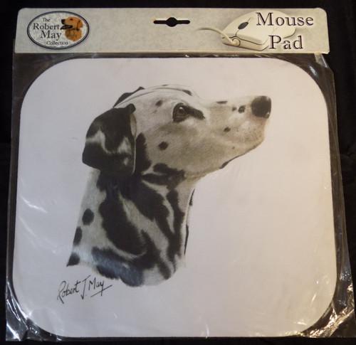 Mouse Pad Designs by Robert May - Dalmatian (RMP02)