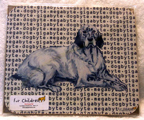 Fur Children Megabyte, Gigabyte, Dog Byte Mouse Pad - English Setter (MPMGDB57)