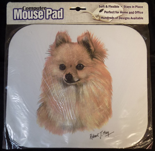 Mouse Pad Designs by Robert May - Pomeranian (RMP03A)