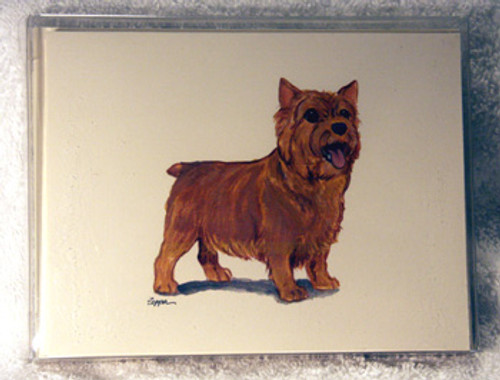 Fur Children Blank Note Cards - Norwich Terrier (NC0405100)