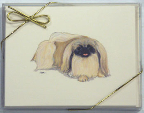 Fur Children Blank Note Cards - Pekingese (NC0405104)