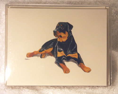 Fur Children Blank Note Cards - Rottweiler (NC0405116)