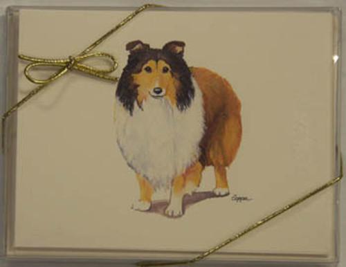 Fur Children Blank Note Cards - Shetland Sheepdog (NC0405124)