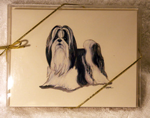 Fur Children Blank Note Cards - Shih Tzu (NC0405126)
