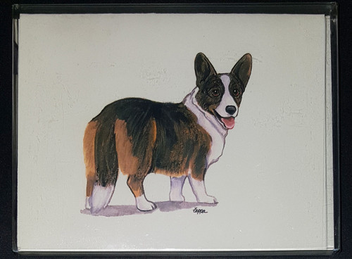 Fur Children Blank Note Cards - Cardigan Welch Corgi (NC0405139)
