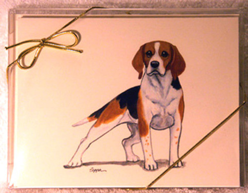 Fur Children Blank Note Cards - Beagle (NC040514)