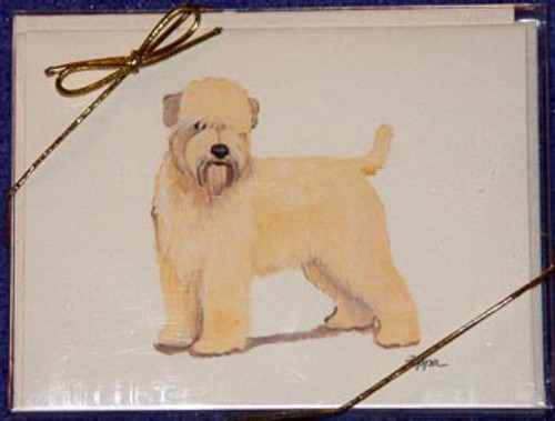 Fur Children Blank Note Cards - Wheaten Terrier (NC0405145)