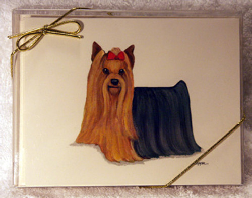 Fur Children Blank Note Cards - Yorkshire Terrier (NC0405148)