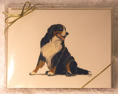 Fur Children Blank Note Cards - Bernese Mountain Dog (NC040518)