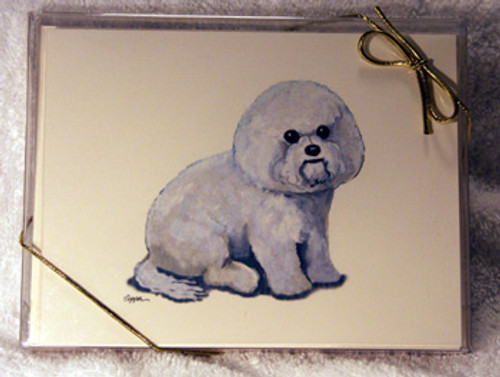 Fur Children Blank Note Cards - Bichon Frise (NC040519)