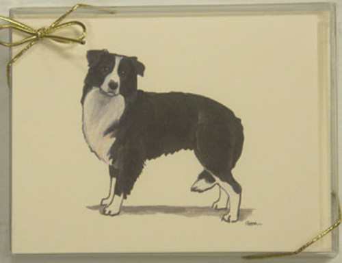 Fur Children Blank Note Cards - Border Collie (NC040521)