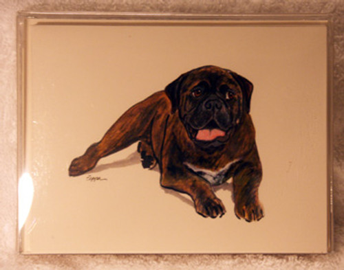 ur Children Blank Note Cards - Bull Mastiff (NC040533)