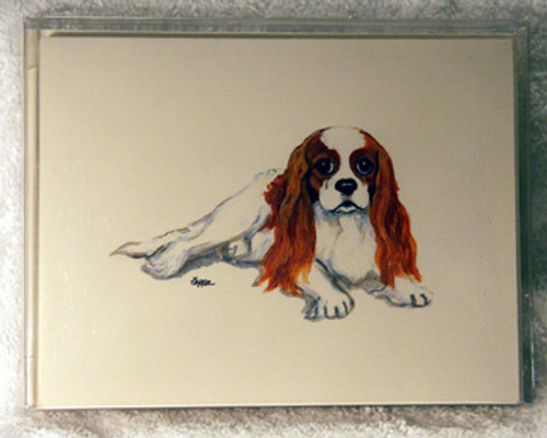 Fur Children Blank Note Cards - Cavalier King Charles Spaniel (NC040536)