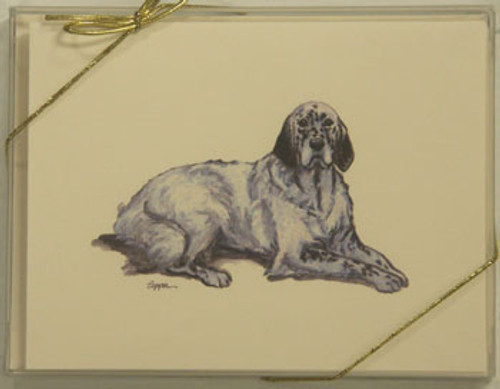 Fur Children Blank Note Cards - English Setter (NC040557)