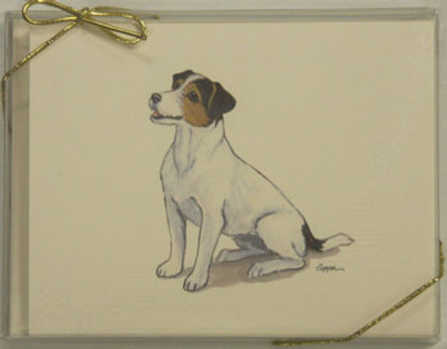 Fur Children Blank Note Cards - Jack Russell (NC040581)