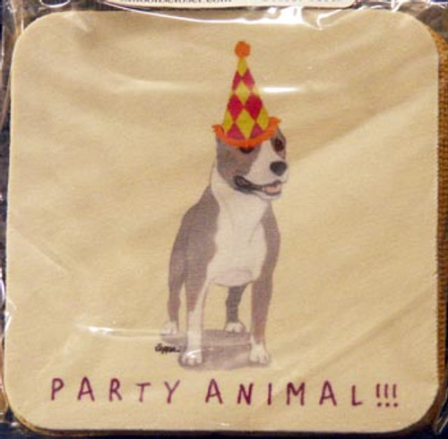 Fur Children Party Animal Coasters - American Staffordshire Terrier (PC040408)
