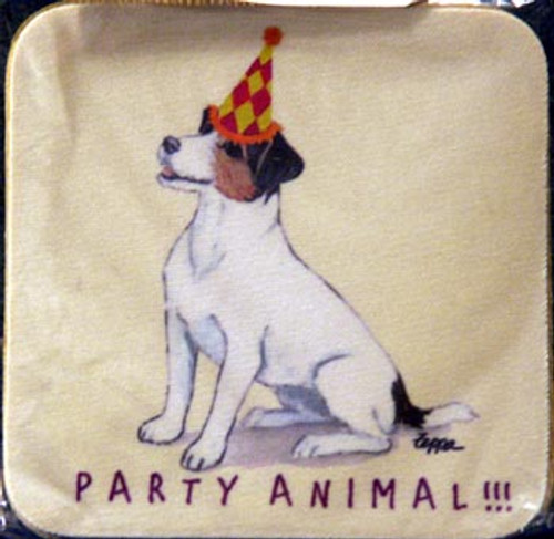 Fur Children Party Animal Coasters - Jack Russell (PC040481)