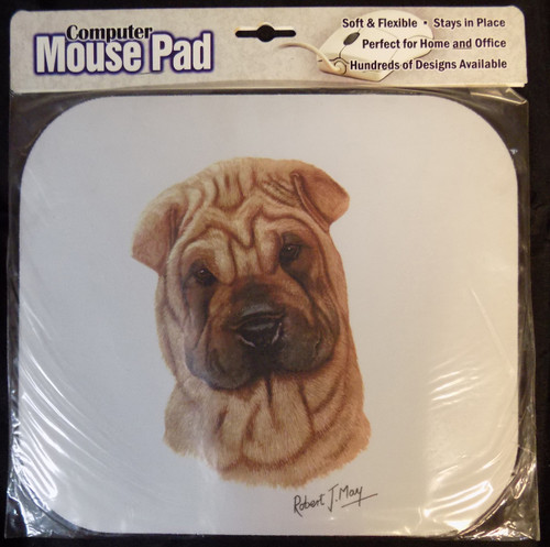 Mouse Pad Designs by Robert May - Shar Pei (RMP40A)