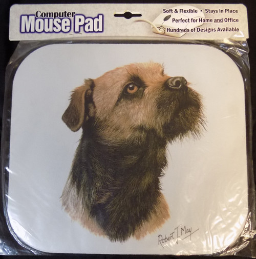 Mouse Pad Designs by Robert May - Border Terrier (RMP94)