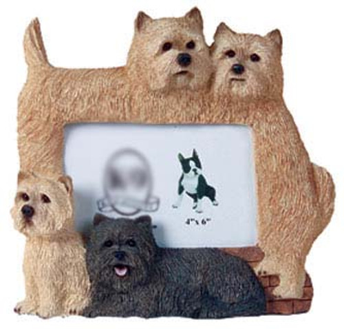 K9 Creation 4x6 Picture Frame - Cairn Terrier (F46)