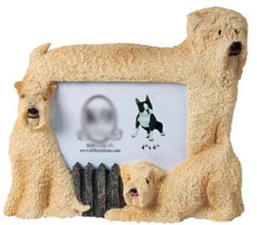 9 Creation 4x6 Picture Frame - Soft Coated Wheaten Terrier (F51)